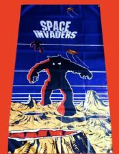 LARGE Space Invaders Arcade Video Game Banner Flag Poster