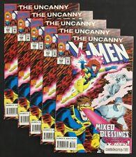 5 LOT UNCANNY X-MEN #308 MIXED BLESSINGS 1993 HIGH GRADE