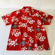 RENO ACES Promotional Hawaiian VLV Shirt Arizona Diamondbacks Mens Size XL