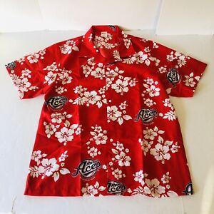 RENO ACES Promotional Hawaiian VLV Shirt Arizona Diamondbacks Mens Size XL