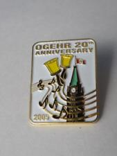 OGEHR ONTARIO GUILD OF ENGLISH BELL RINGERS PIN 2005 20th ANNIVERSARY SOUVENIR