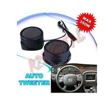 COPPIA TWEETER DOME ALTOPARLANTI AUTO 350 Watt max STEREO MINI CASSE IMPIANTO