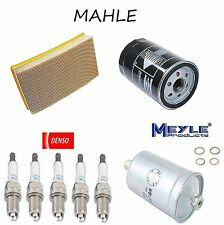 Tune Up Kit Air Oil Fuel Fitlers Plugs for Audi A6 Quattro 1995 To 8/94