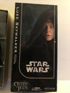 Luke Skywalker 1:6 Figure Star Wars Order of the Jedi 2006 Sideshow Figure Used