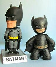 Batman Mezco 2009 & Funko Bobblehead 2011 Figures USED ~ Dark Knight Mez-Itz DC