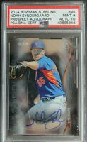 Mets Noah Syndergaard 2014 Bowman Sterling ROOKIE #NS Autograph Signed PSA 10