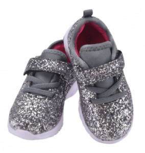 Baby Toddler Girls Sparkly Glitter Shoes Casual Athletic walking Sneakers