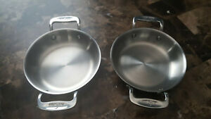 ALL CLAD metalcrafters 6 INCH MINI GRATIN SET STAINLESS STEEL