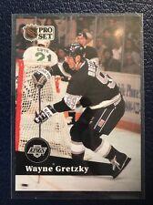 WAYNE GRETZKY  1991-92 Pro Set French #101  NM/MT+ w/Top Loader!