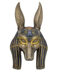Egyptian Anubis Mask Statue Wall Plaque Sculpture - HOME DECOR