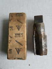 Vintage Vermont American  1-11 1/2 NPT High Carbon Steel Pipe Tap 5 Flutes