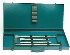Makita SDS - Max Meissel Set 4- tlg im Metallkoffer P - 18013