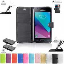 Samsung Galaxy J1 Mini Book Pouch Cover Case Wallet Leather Phone