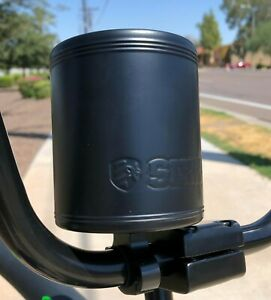 SIKK Cruiser Bicycle Stainless Insulated Can Holder Flat Black - Beach Cruiser