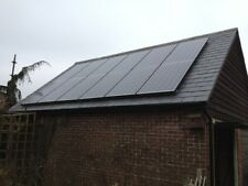 4KW SOLAR PANEL PV KIT SYSTEM WITH BLACK PANELS BEST PRICE IN THE UK AND EBAY