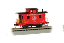 BALTIMORE & OHIO RR BOBBER CABOOSE HO-SCALE BY BACHMANN TRAINS SILVER SERIES