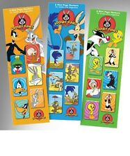 Looney Tunes Mini Magnétique Page Marqueurs Marque-Pages Bugs Bunny Daffy Duck