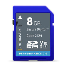 Promaster 8GB SDHC Class 10 Memory Card (Performance 2.0)