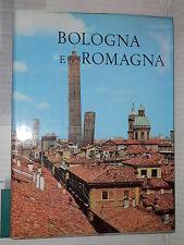 BOLOGNA E ROMAGNA TCI 1964 libro viaggi attraverso italia manuale corso libro di