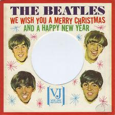 BEATLES Christmas 45 RPM Record Sleeve 1964