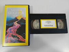 NACIDO DEL FUEGO - VHS TAPE CINTA NATIONAL GEOGRAPHIC VIDEO
