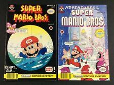 ADVENTURES OF SUPER MARIO BROTHERS  #5 LUIGI 2 ISSUE COMIC BOOKS CAPT N NINTENDO