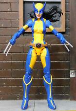 """MARVEL LEGENDS X-MEN SAURON WAVE X-23 LAURA KINNEY """"LADY WOLVERINE"""" LOOSE NO BAF"""