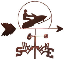 Snowmobile Sled Weathervane (Roof Mounting Included)