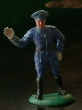 True Antique Train, Playset Police Figure by BETON: Bergen Toy & Novelty Co. OLD