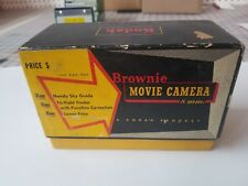 VINTAGE KODAK BROWNIE 8MM MOVIE CAMERA FILM w/ ORIGINAL BOX