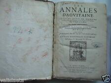 RARE LIVRE LES ANNALES D'AQUITAINE 1644 JEAN BOUCHET