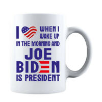 USA Flag I Love When I Wake Up in The Morning and Joe Biden is President Mug