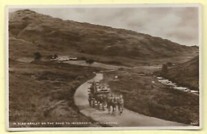 Vintage Real Photo Postcard,  IN GLEN ARKLET ON THE ROAD TO INVERSNAID.   289B