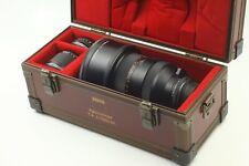 Rare Set! [MINT] CONTAX CARL ZEISS APO SONNAR T* 200mm f/2 + Mutar 1.4x & 2x F65