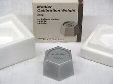 METTLER 200g Calibration Weight Kalibriergewicht Präzisionsgewicht Prüfgewicht