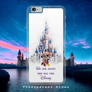 DISNEY MICKEY AND MINNIE NEVER OLD PHONE CASE COVER FOR IPHONE SAMSUNG HUAWEI