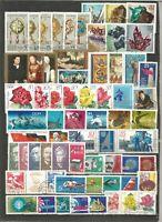 DDR 1972 gestempelt kompletter Jahrgang mit allen Einzelmarken sehr gute Stempel