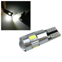 Blanco lampara HID W5W T10 6-smd x2 158 192 194 LED Auto Canbus led light