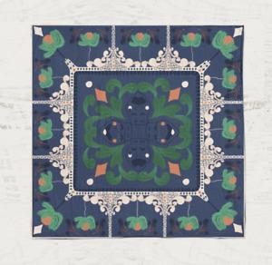 Hybrid Cotton Art Handkerchief, Unisex - New Orleans Ironwork
