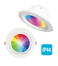 Integrated Bluetooth 5W Speaker & LED 15W Downlight RGB Colour Change + 4000K