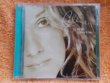 CELINE DION CELINE NALL THE WAY A DECADE OF SONG C.D.NEW