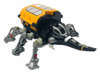Vintage 1996 Bandai Beetleborgs Series Gargantis Mobile Attack Carrier Rare