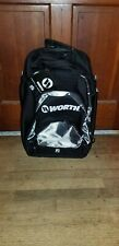 Worth Xl Baseball/Softball Wheeled Backpack Bat Bag - Black/Grey Woxlbp-17-Gry