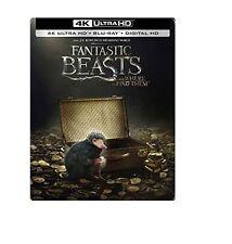 Fantastic Beasts and Where to Find Them (4K Ultra HD/Blu-ray/Digital) Steelbook