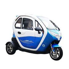 Elektromobil Scooter mit Kabine EEC Straßenzulassung Radio Rückfahrkam. Alarm