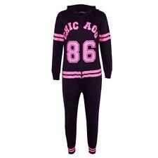 Pyjamas noirs pour garçon de 2 à 16 ans en 100% coton