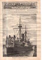 1889 Scientific American Supp August 31 Fort Madison IA Bridge; Venetian glass
