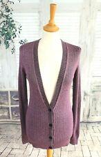DRIES VAN NOTEN Purple cardigan size S