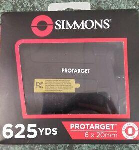 Simmons Protarget 6x20mm Hunting Laser Rangefinder - Black/Tan