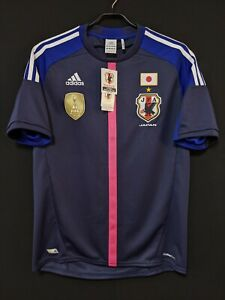2012-13 JAPAN Women's Home Jersey Soccer Shirt adidas L BNWT